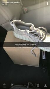finest selection b9830 80463 Image is loading Adidas-Yeezy-Boost-350-V1-Oxford-Tan-Kanye-
