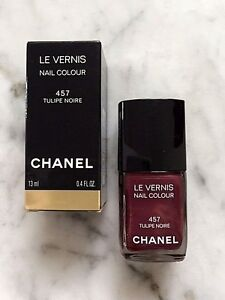 CHANEL LE VERNIS - 457 TULIPE NOIRE NAIL POLISH - LIMITED EDITION ...
