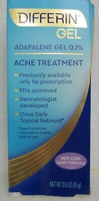 Differin Adapalene Gel 0 1 Acne Treatment 0 5 Oz 15 G 302994920303 Ebay