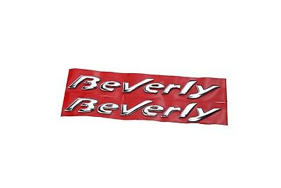 PRO-KODASKIN Motorcycle 3D Raise Emblem Stickers Decal for Piaggio Beverly 500