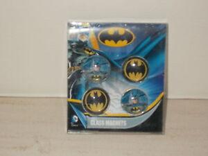 Set-of-4-Batman-glass-magnets-New