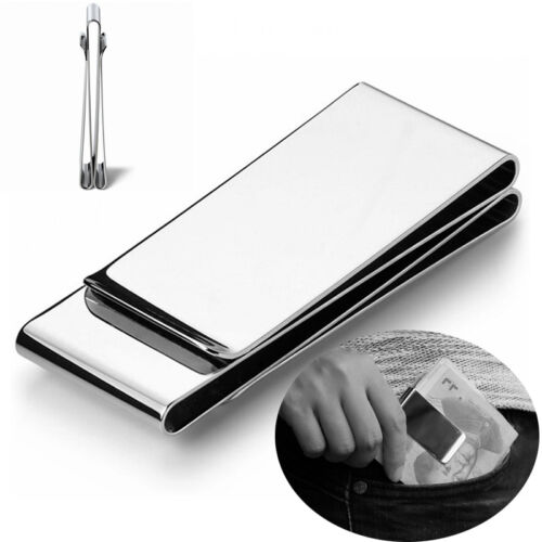 Man/'s Metal money clips dollar clips bill clip credit card money clamp clips