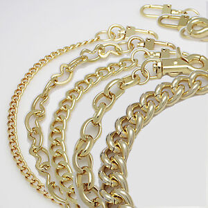 K-Craft Geldbörse Kette Armband Gold Griff Schulter Crossbody Handtasche Ersatz