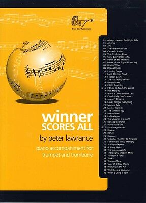 Winner Scores All Lawrance Tpt & Tbn Piano Accomps Musical Instruments & Gear Contemporary