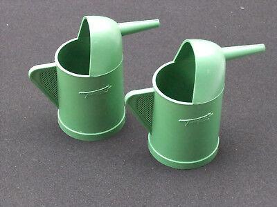 2 X Fleischmann Wasserkanne / Ölkanne Ein GefüHl Der Leichtigkeit Und Energie Erzeugen