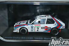 HPI 1/43 Lancia Delta S4 #2 Martini 1986 Sanremo M.Alen/I.Kivimaki Night Lights!