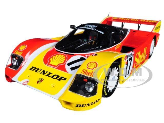 moda Porsche 962C  17 detenido Campana Nurnberg 1987 limitada 1 1 1 18 coche por Minichamps 155876517  el precio más bajo