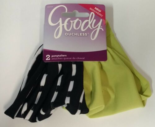 Goody Ouchless Hair Ponytailers Colors Exactly As Shown 2 Pack