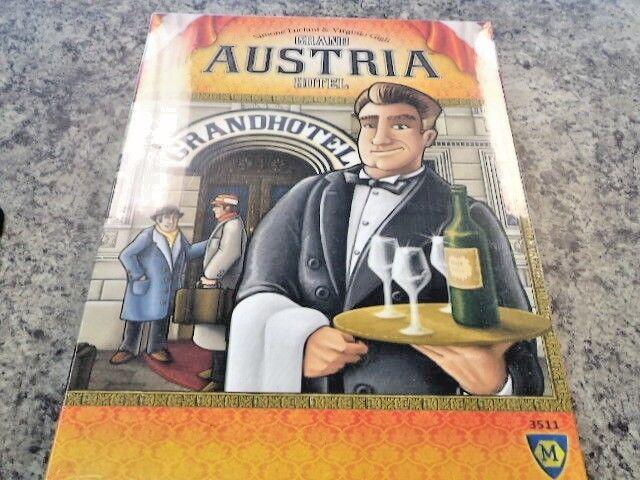 The Grand Austria Hotel - Mayfair Games Board Game Nuovo