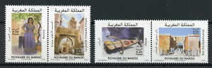 Morocco-2018-MNH-Oujda-Arab-Capital-Culture-4v-Set-Architecture-Tourism-Stamps
