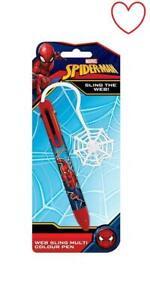 Stationary Spider-Man Sling The Web Pen Marvel Official