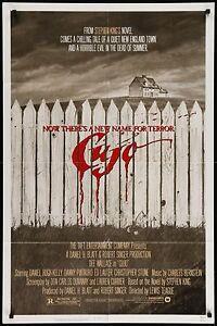 CUJO 1983 27x41 Movie Poster • #MoviePoster #StephenKing #Horror #BMovie