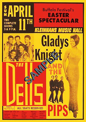 Northern Soul/Tamla Motown - Gladys Knight/The Dells Repro Concert ...