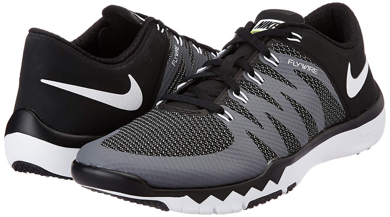 fbda54c0674b Mens Nike Trainer 5.0 V6 Running Shoes Size 15 Black Grey White ...