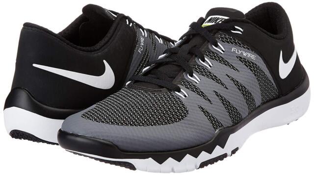 a027fa47efb1 Nike Free Trainer 5.0 V6 Men s 15 - Black White Training Shoes 719922-010