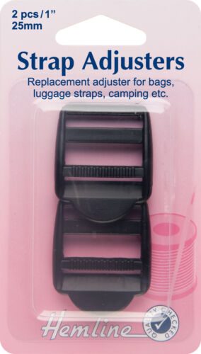 Luggage Strap Choose Size 25 or 32mm Hemline Adjustable Strap Buckle For Bags