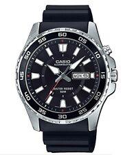 Casio MTD-110-1AV  Men's 'Super Illuminator' Black Dial Quartz Watch MTD110