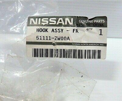 Nissan Genuine 51111-ZW00A Tow Hook