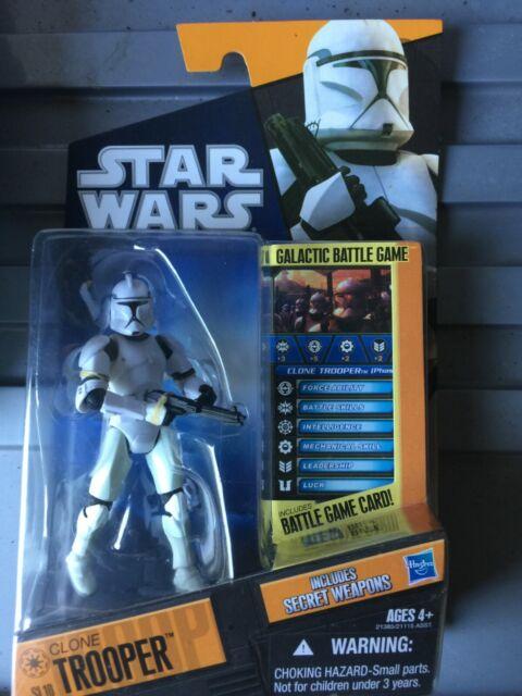 STAR WARS Saga Legends Hasbro Action Figure 501st Clone Trooper SL19