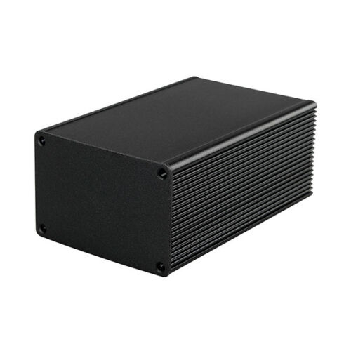 New Aluminum Box Enclosure Case Project electronic black DIY 100*66*43MM L*W*H