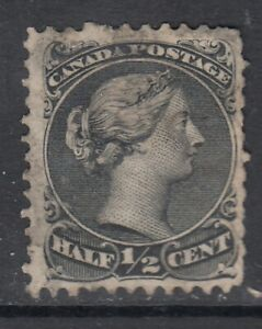Canada-Scott-21-1-2-cent-black-034-Large-Queen-034-F