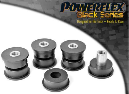 PFR27-209BLK Powerflex Rear Axle Brace Assembly Bushes BLACK Series 4 in Box