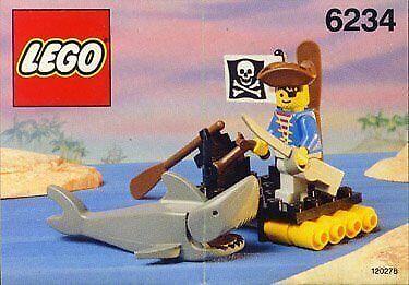 Lego Pirates Renegade's Raft 6234