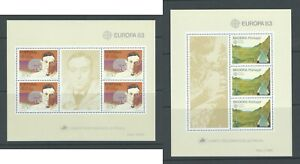 PORTUGAL Madeira  | 1983 | Lot of 2 Europa CEPT Minisheets. Mint NH.