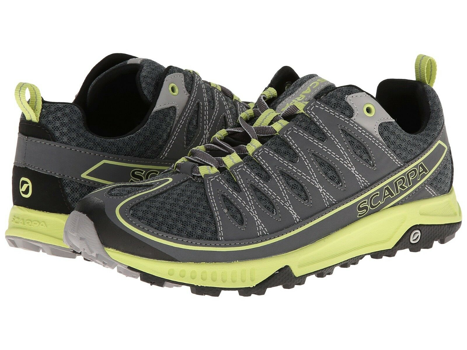 60% OFF  NEW  Damen  SCARPA ION SHARK/LIME. LIGHTWEIGHT RUNNING Schuhe , US 7, SHARK/LIME. ION b07d50