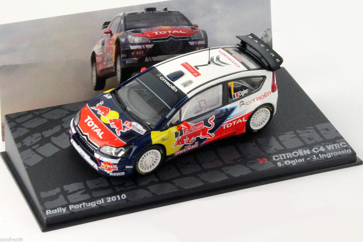 RALLY Ixo MOULÉ SOUS PRESSION 1 43 Citroen C4 WRC- Ogier Ingrassia. Ixo eRAL017