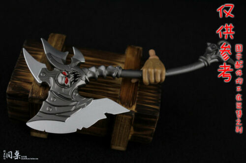 """1:6 Scale Undead God Of War Cold Weapon Ax/&Axe Model For 12/""""Male /& Female Body"""