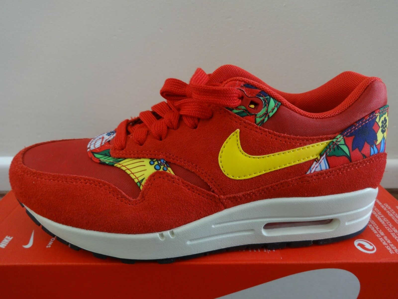 Nike womens Air Max 1 Print womens Nike trainers sneakers 528898 602 NEW+BOX 2862ed