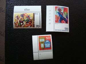 Germany-Rfa-Stamp-Yvert-Tellier-N-672-A-674-N-MNH-CAM1