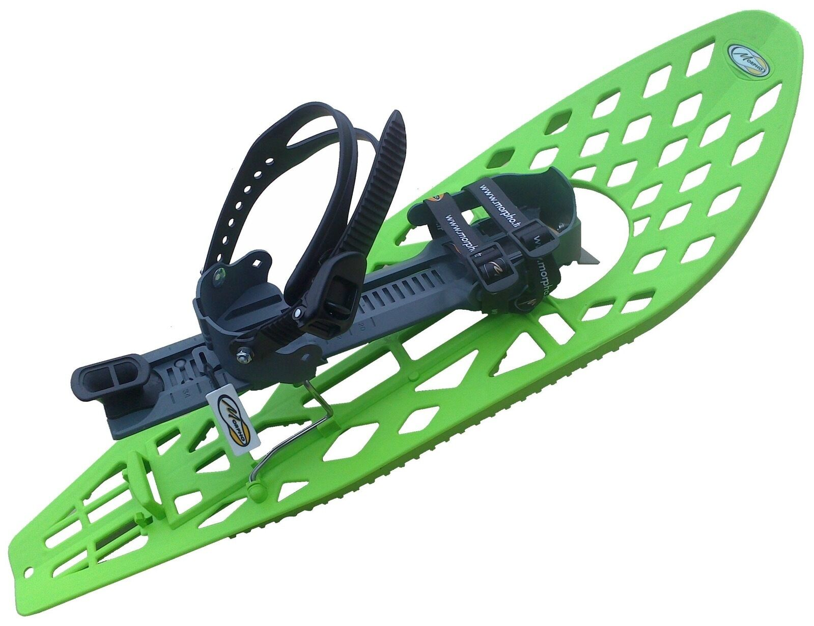 "MORPHO TRIMALP Composite Light Snowshoes Snow shoes 30""x10"" Large Made in France"