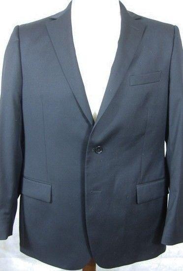 NEW Brooks Brothers Dark Blau Made in  Suit Coat Sport Coat 43R Slim Fit