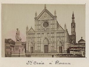 Florence Firenze Italia Vintage Albumina 6x9, 5cm Ca