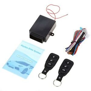 86 alarme voiture distance kit t l commande verrouillage keyless entry system ebay. Black Bedroom Furniture Sets. Home Design Ideas