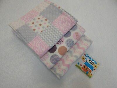 Jungle Babies Burp Cloth Toweling Back GREAT GIFT IDEA!!
