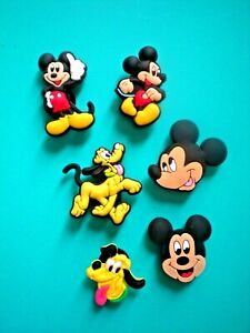Clog Shoe Charms Button Plug Holey Accessories WristBands Mickey Minnie Mouse