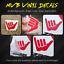 Sniff But Don/'t Scratch Vinyl Decal StickerDon/'t Touch Car Show 210