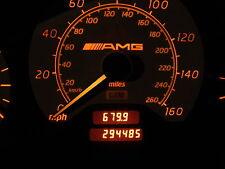 MERCEDES W202 C43 AMG 98-99 SPEEDOMETER GAUGE CLUSTER 294485 MILES NICE CLEAN