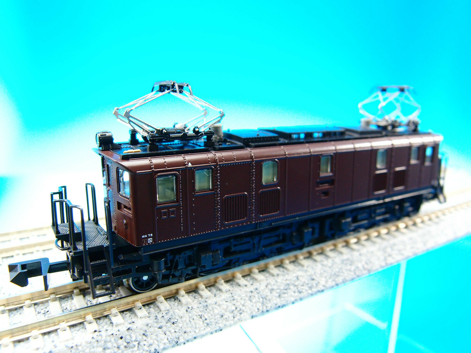 KATO 3068 JNR Electric Locomotive ED16 (N (N (N Scale) New   19ab16