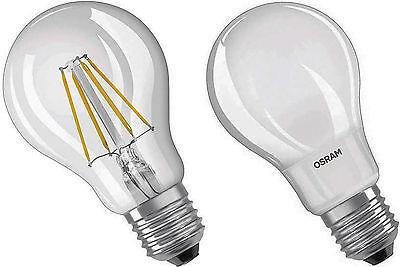 OSRAM LED Birne Lampe Filament Faden Glühlampe Glühbirne 4 bis 8 Watt dim