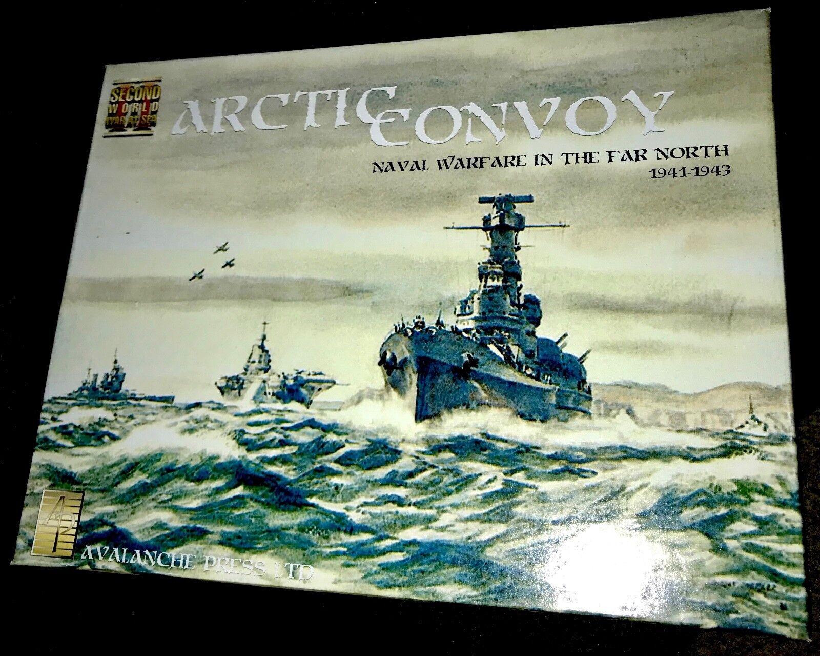 Arctic Convoy Board Game Naval Warfare in the Far North 1941-1943