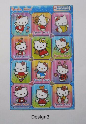 10x15cm Hello Kitty Glitter Sticker Sheet 4x6/'/'