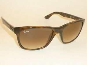 9024e1a1df New RAY BAN Sunglasses Havana Frame RB 4181 710 51 Gradient Brown ...