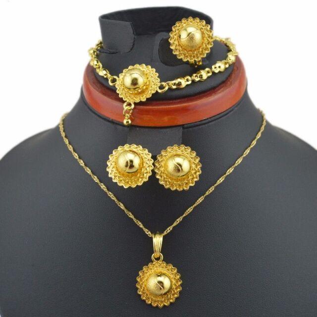 Ethiopian Jewelry Set Round Baby