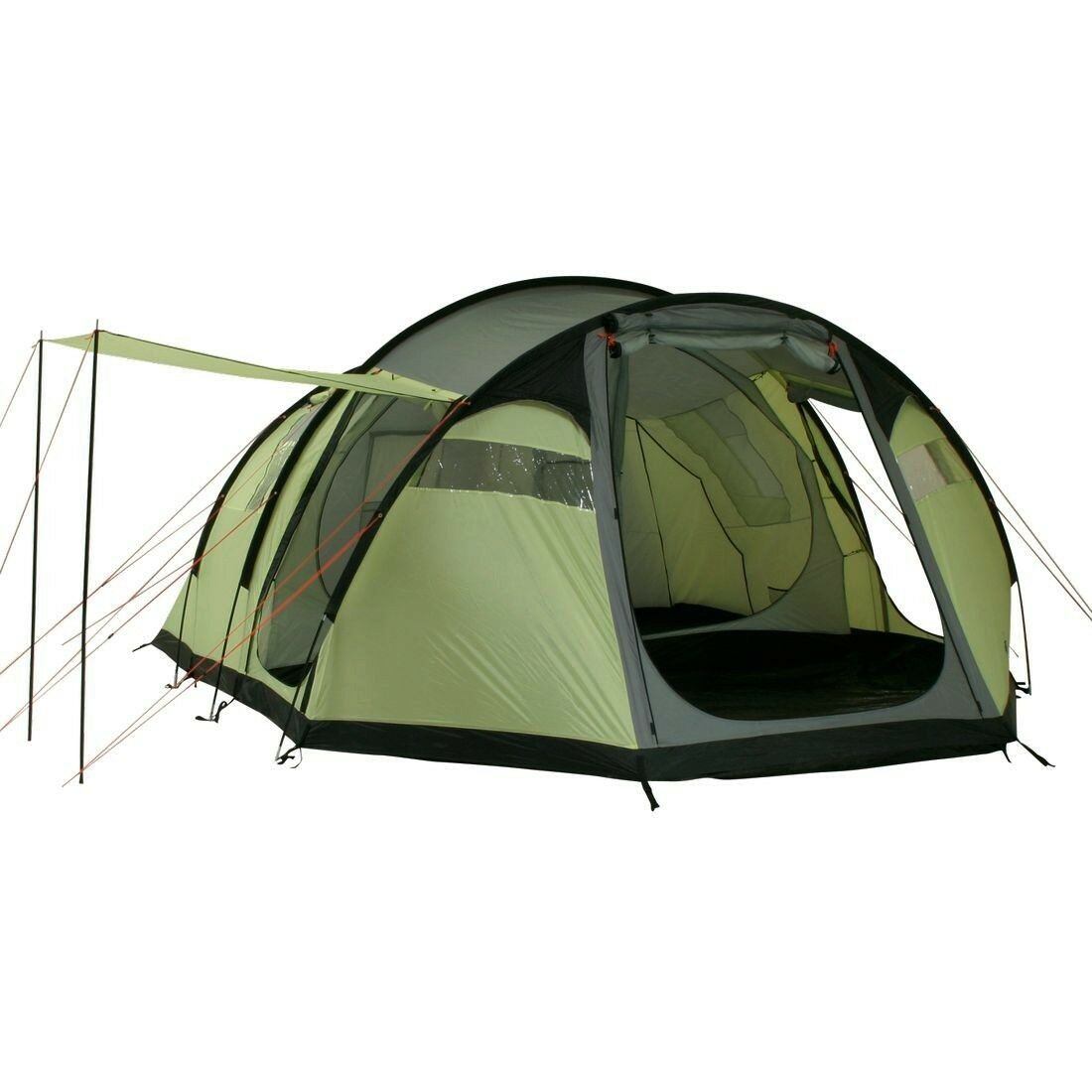 10T Camping-Zelt Wilton, 6 Personen Tunnelzelt, Familienzelt mit 5000mm