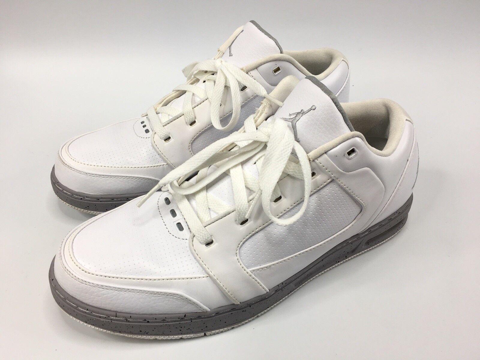 Nike air jordan classico basso 2011 white 395361-103 scarpe Uomo 11