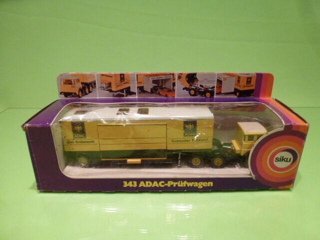 SIKU 343 ADAC- PRUFWAGEN STRASENWACHT  - IN ORIGINAL BOX -   GOOD CONDITION